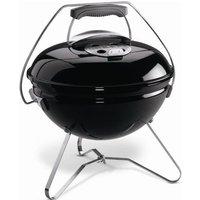 WEBER Barbecue à charbon portable Smokey Joe Premium Ø37 cm - Acier chromé - Noir