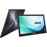 ASUS Moniteur LCD MB169B 396 cm (156 ) Full HD LED 16:9 Argenté Black Résolution 1920 x 1080 200 cd/m² 14 ms