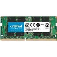 CRUCIAL Mémoire PC Portable SO DIMM DDR4 16Go (1x16Go) 2666 MHz CAS 19 (CT16G4SFD8266)