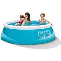 INTEX Kit piscine ronde autoportée Easy Set - Ø182 x 50cm