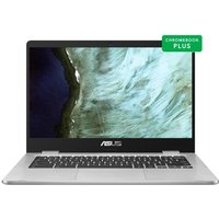 Ordinateur Portable Chromebook ASUS C423NA BV0051 14 HD Intel Celeron N3350 RAM 4 Go Stockage 64Go eMMC Chrome OS AZERTY