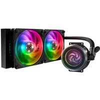 COOLER MASTER MasterLiquid ML240P Mirage WaterCooling Processeur AIO (Intel AMD) 2x 120mm RGB Adressable (MLY D24M A20PA R1)