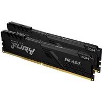 Mémoire Kingston FURY Beast 32 Go (2x16Go) DDR4 2666 MHz CL16
