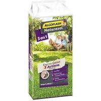 ALGOFLASH NATURASOL Engrais Gazon AG3BIO250 3 Actions Naturanid - 10 kg
