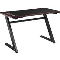 OPLITE Bureau Gaming Tilt Desk Black / Red (OP TGD)