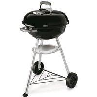 WEBER Barbecue à charbon Compact Kettle Ø47 cm - Acier chromé - Noir