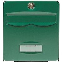 BURG WACHTER Boîte aux lettres Balthazar en acier galvanisé - 2 portes - Vert