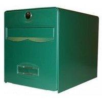 BURG WACHTER Boîte aux lettres Balthazar en acier galvanisé - 1 porte - Vert