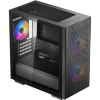 DEEPCOOL Matrexx 40 3FS Boitier PC Sans Mini tour Format Micro ATX Black (DP MATX MATREXX40 3FS)
