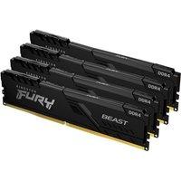 KINGSTON FURY Beast Mémoire 16 Go (4x4Go) DDR4 2666 MHz CL16