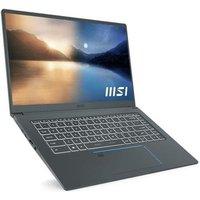 PC Portable Gamer MSI Prestige 15 A11SCX 411FR 156 FHD i7 1165G7 16Go Stockage 512Go SSD GTX 1650 W10H AZERTY