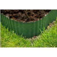 Bordure à gazon polyéthylènes verts H15 cm * 9 mètres