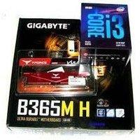 GIGABYTE Carte mère Micro ATX Socket 1151 Intel B365 Express 2x DDR4 SATA 6Gb/s M.2 USB 3.0 1x PCI Express 3.0 1 (B365M H)