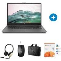 PC Portable HP 15 dw1066nf 15 HD Core I3 RAM 4 Go Stockage 128 Go W10 Souris Casque Sacoche Microsoft 365