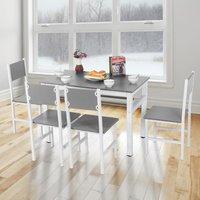 MEUBLES. ?Poids: env. 29700g / 1047.6oz ?Taille de la table: env. 108 x 60 x 72,5 cm / 42,5 x 23,6 x 28,5 pouces ?Taille de la chaise: env. 42 x 39 x
