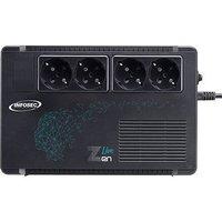 INFOSEC Zen Live 650 Onduleur Line Interactive 650 VA 4 Prises FR/SCHUKO Garantie 2 ans