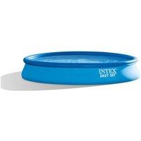 Intex kit piscine easy set autoportante ronde (ø)4,57 x (l)0,84m