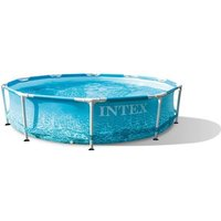 Intex kit piscinette tubulaire ocean (ø)3,05 x (h)0,76m