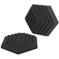 ELGATO Mousse acoustique 2 panneaux de traitement acoustique Black (10AAK9901)