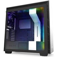 NZXT BOITIER PC H710i Rétroéclairage RGB White Verre trempé Format ATX (CA H710i W1)