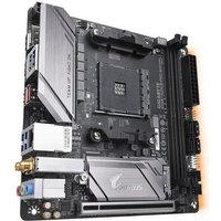 GIGABYTE Carte Mère Aorus Ultra Durable B450 I AORUS PRO WIFI AMD Chipset Socket AM4 32 Go DDR4 SDRAM RAM maximale