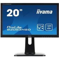 IIYAMA Ecran B2083HSD B1 195 1600x900 5ms 250cd/m² DVI/VGA
