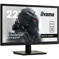 Ecran PC Gamer IIYAMA G Master Black Hawk G2230HS B1 215 FHD Dalle TN 08 ms 75Hz VGA / HDMI / DisplayPort FreeSync