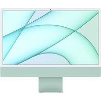 Apple 24 iMac Retina 45K (2021) Puce Apple M1 RAM 8 Go Stockage 256Go GPU 8 coeurs 2 Ports USB 3 Green