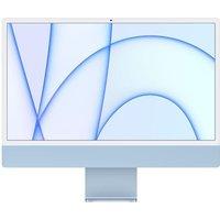 Apple 24 iMac Retina 45K (2021) Puce Apple M1 RAM 8 Go Stockage 256Go GPU 8 coeurs 2 Ports USB 3 Blue