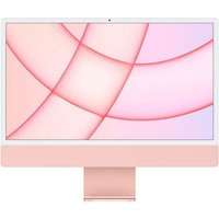 Apple 24 iMac Retina 45K (2021) Puce Apple M1 RAM 8 Go Stockage 256Go GPU 8 coeurs 2 Ports USB 3 Rose