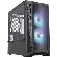 COOLER MASTER MB311L ARGB Mesh Boîtier PC Gaming (M ATX Panneau en verre trempé 2x120mm ARGB)