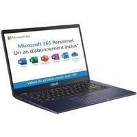 PC Portable ASUS E406MA BV691TS 14 HD Pentium N5030 RAM 4 Go Stockage 128 Go NumPad Windows 10 S Office 1 an AZERTY