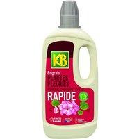 Engrais Rapide Plantes Fleuries : Géraniums, Dipladénias, Vivaces, … 1L