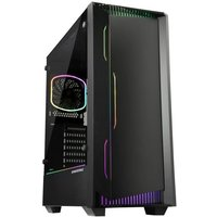 ENERMAX BOITIER PC Enermax LIBLLUSION LL30 Black Verre trempé Format ATX (ECA LL30 M1BB ARGB)