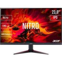 ACER Nitro VG240YSbmiipx Ecran Gamer 238 FHD Dalle IPS 1ms 165Hz 2xHDMI / DP AMD FreeSync Black