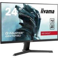 Ecran PC Gamer IIYAMA G Master Red Eagle G2470HSU B1 238 FHD Dalle IPS 08 ms 165 Hz HDMI / DisplayPort FreeSync