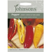 Johnsons Pepper Sweet Corno di Seeds