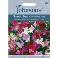 Johnsons Sweet Pea Old Fashioned Seeds