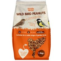 Nature Watch Peanuts Wild Bird Food (1.5kg)