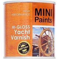 Mini Paints Hi-gloss Yacht Varnish 215ml