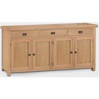 Cotswold Sideboard Oak 4 Door