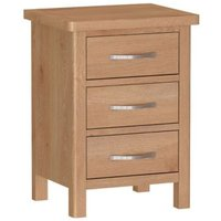 Sienna 3 Drawer Bedside Drawers