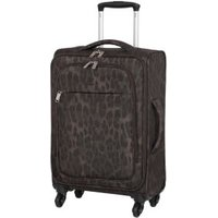 it luggage Leopard Cabin Rosette Suitcase