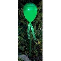 Bright Garden Balloon Stake Solar Light - Green