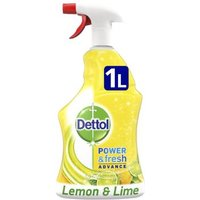 Dettol Power and Fresh Advance Lemon and Lime 1L