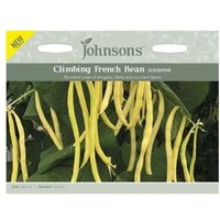 Johnsons Climbing French Bean Sunshine Seeds