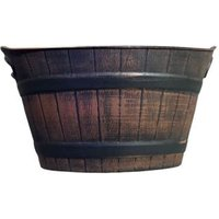 Barrel Planter With Handles