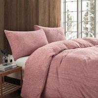 Toastie Pink Double Duvet Set