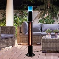 Patio Heater 3-In-1 Light Up Tower