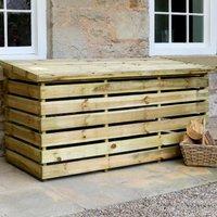 Garden Log Chest